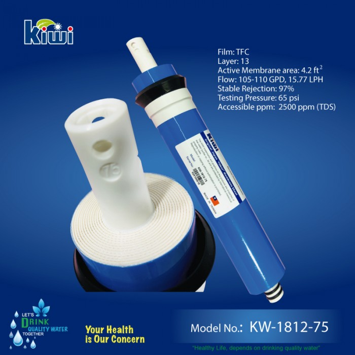 KIWI - Taiwanese 75 GPD TFC Membrane