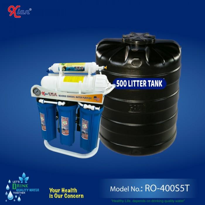 Xian RO-400S5T - 1520 LPD Commercial RO Purifier