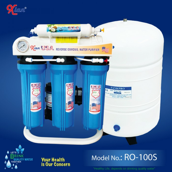 Xian RO-100S - 5 STAGE RO WATER PURIFIER FOR SMALL OFFICE