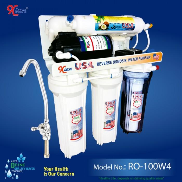 Xian RO-100W4 - 100GPD wall mounted RO Purifier