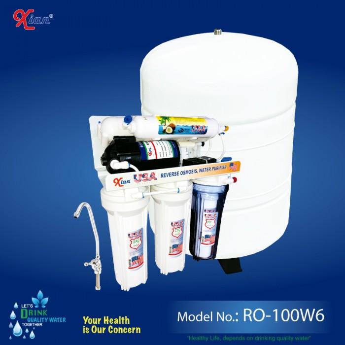 Xian RO-100W6 - 380 LITTER wall mounting RO WATER PURIFIER