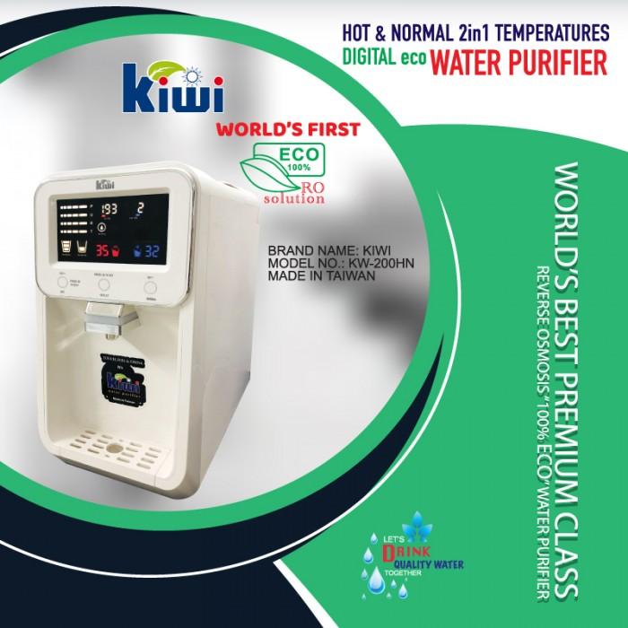 KIWI - PORTABLE & DIGITAL RO WATER PURIFIER